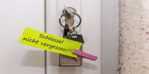 Schlüssel Nicht Vergessen